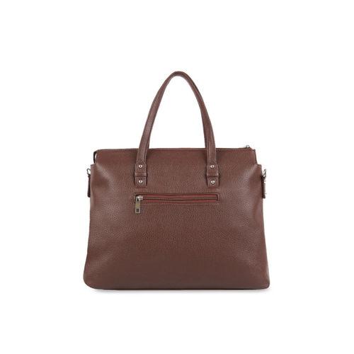Toteteca Brown Solid Shoulder Bag