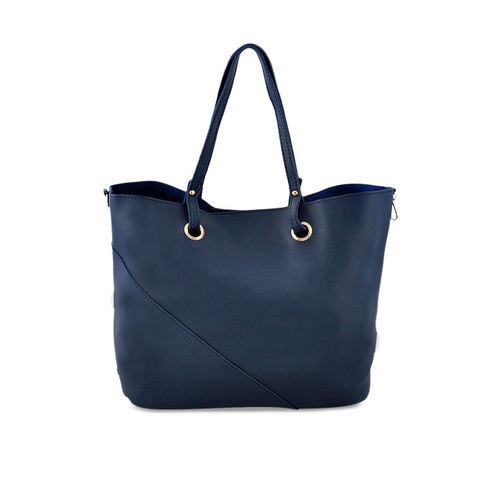 LaFille Set Of 4 Blue Solid Bags