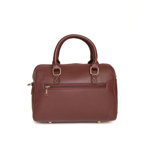 Caprese Coffee Brown Solid Handheld Bag