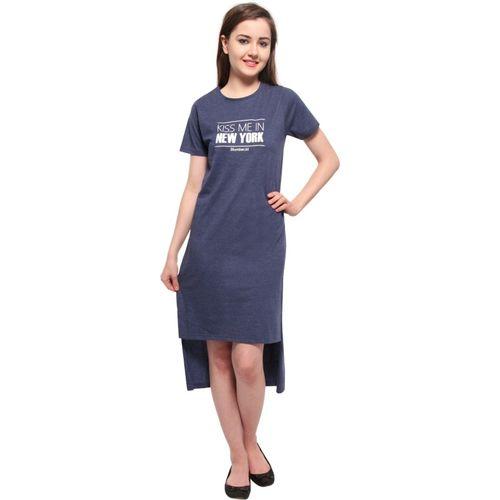 Slumber Jill Women Nighty(Blue)