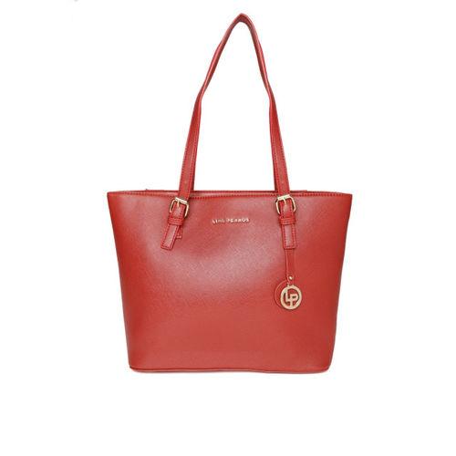 Lino Perros Red Solid Shoulder Bag