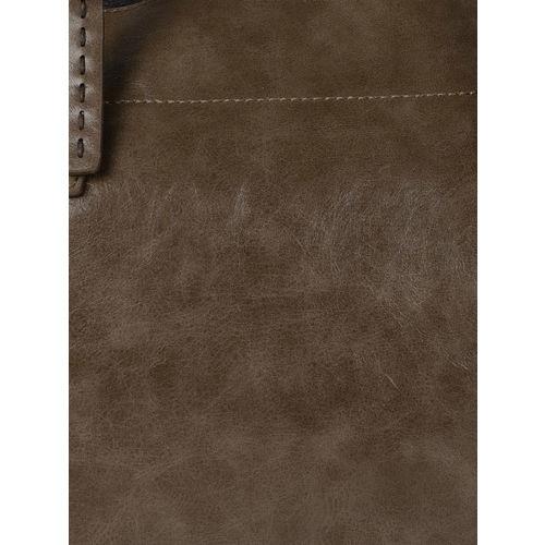 DressBerry Brown Solid Shoulder Bag