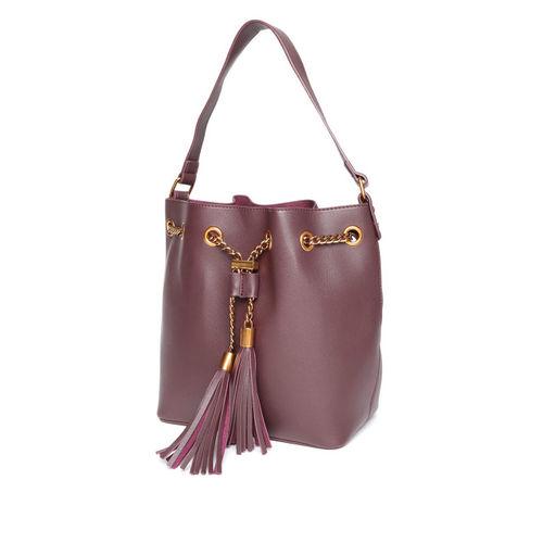 Dressberry Set of 2 Burgundy Handbags