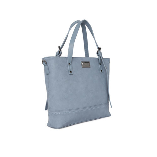 CERIZ Blue Solid Handheld Bag