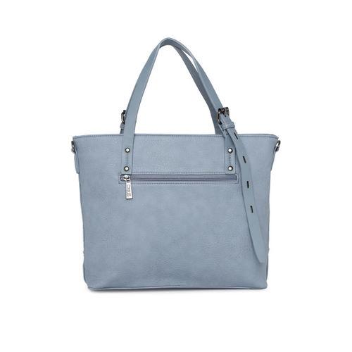 CERIZ Blue Solid Handheld Bag