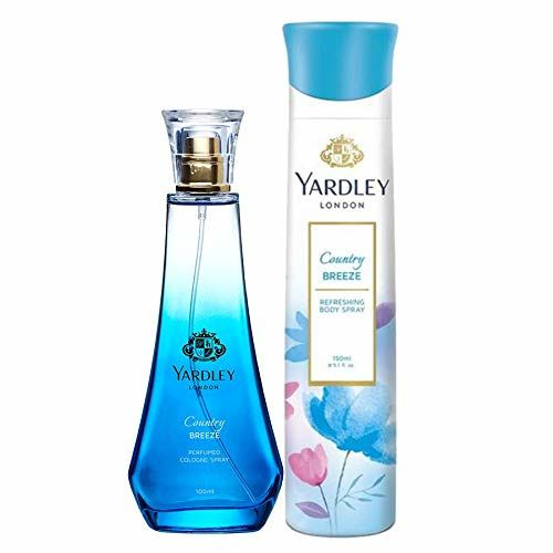 Yardley London Country Breeze Daily Wear Perfume 100ml + Yardley London Country Breeze Refreshing Deo 150ml
