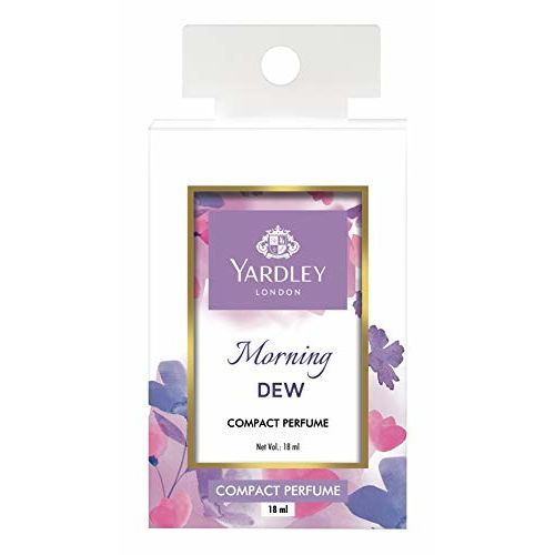 Yardley London Morning Dew Compact Perfume, 18ml