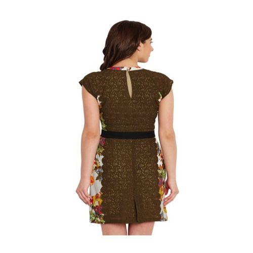 The Vanca Multicolor Lace Bodycon Dress