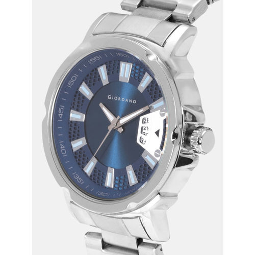 GIORDANO Men Teal Blue Analogue Watch C1128-22