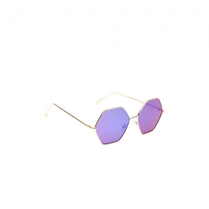 DressBerry Women Mirrored Hexagon Sunglasses MFB-PN-PS-T10179