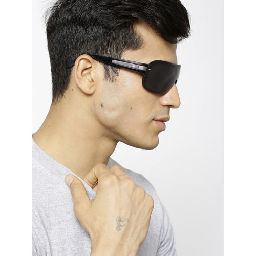 Fastrack Men Shield Sunglasses NBP336BK1
