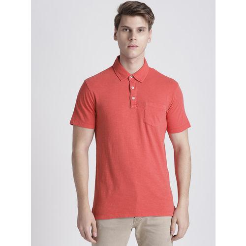 GAP Men's Vintage Slub Jersey Polo Shirt