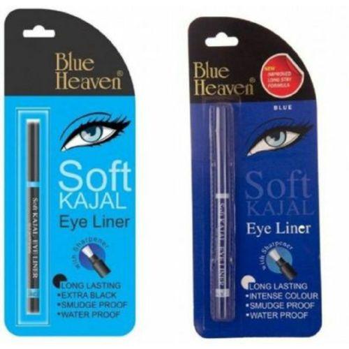 Blue Heaven kajal soft black & blue(black & blue, 0.62 g)