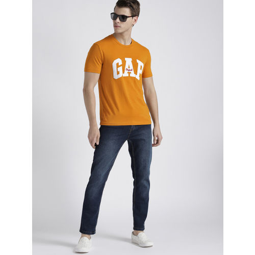 GAP Men's Logo Crewneck T-Shirt