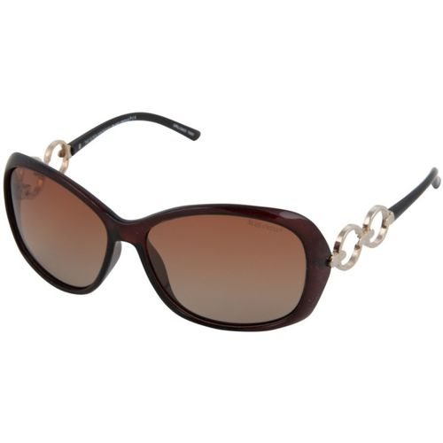 Blue Cross Butterfly Sunglasses(Brown)