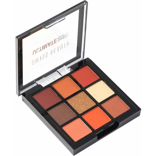 Swiss Beauty Ultimate Eye Shadow Palette with 9 attractive Natural Colors 9 g(Multicolor)