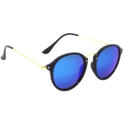 Sulit Round, Cat-eye, Butterfly Sunglasses(Blue)
