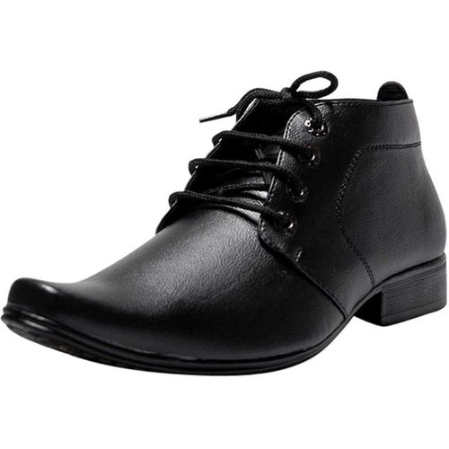TrendWalk Elite Lace Up Derby Boot Boots For Men(Black)