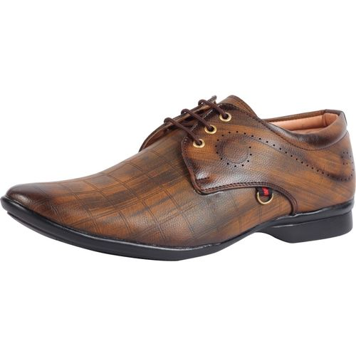 Smoky Party Lace Up For Men(Brown)