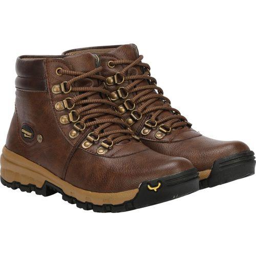 Kraasa Bang Bang Boots For Men(Brown)