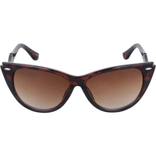 Laurels Cat-eye Sunglasses(Brown)