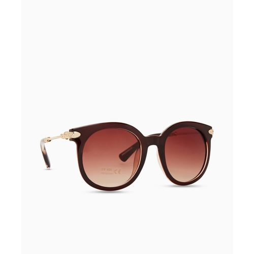 Provogue Oval Sunglasses(Brown)