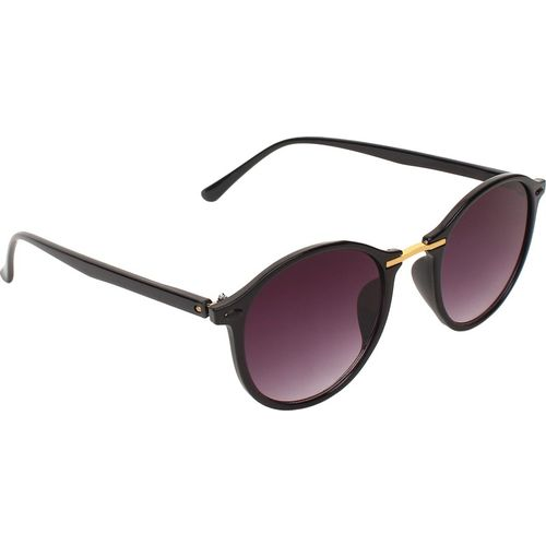 Amour Oval Sunglasses(Black)
