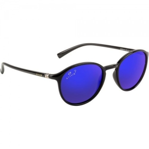 Aislin Round, Oval Sunglasses(Blue, Violet)