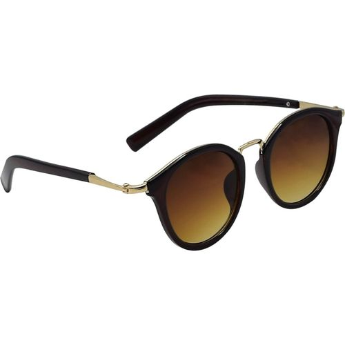 Ocnik Oval Sunglasses(Brown)