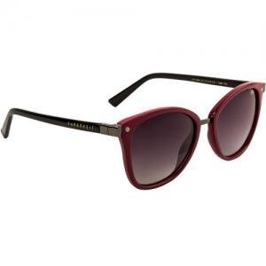 Farenheit Oval Sunglasses(Grey)