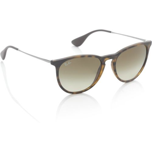 Ray-Ban Oval Sunglasses(Brown)