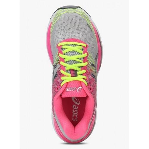09f45979720d Buy Asics Gel-Nimbus 18 Pink   Neon Running Shoes For Women online ...
