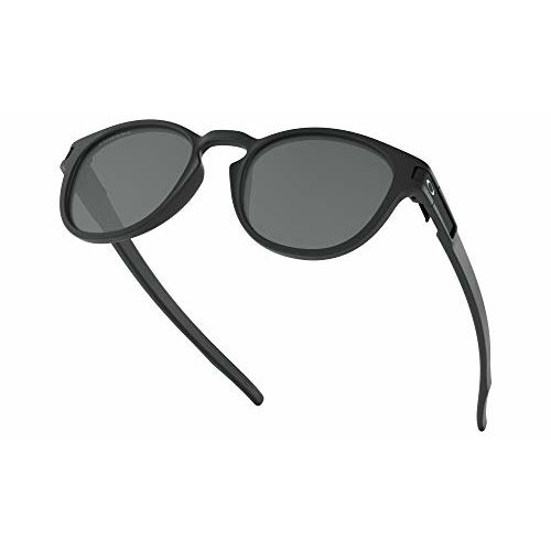 Oakley UV Protected Oval Men's Sunglasses - (0OO926592652753|52|Prizm Black Color)