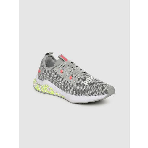Puma Women Grey Hybrid NX Running Shoes
