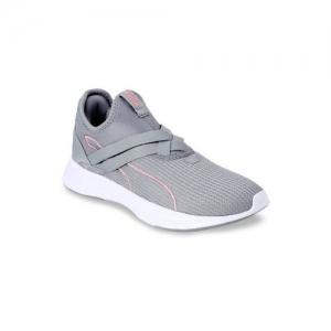 Puma Women Grey Radiate XT Textile Training or Gym Shoes