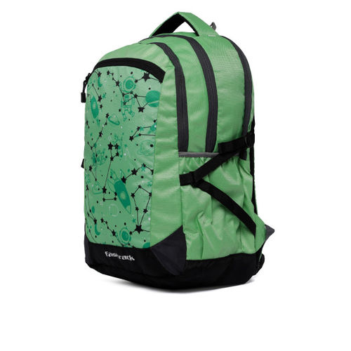 Fastrack Men Green Graphic Backpack