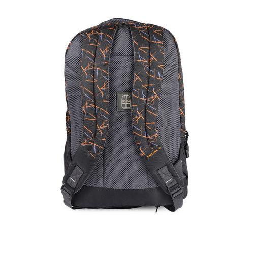 Fastrack Men Black Graphic Backpack