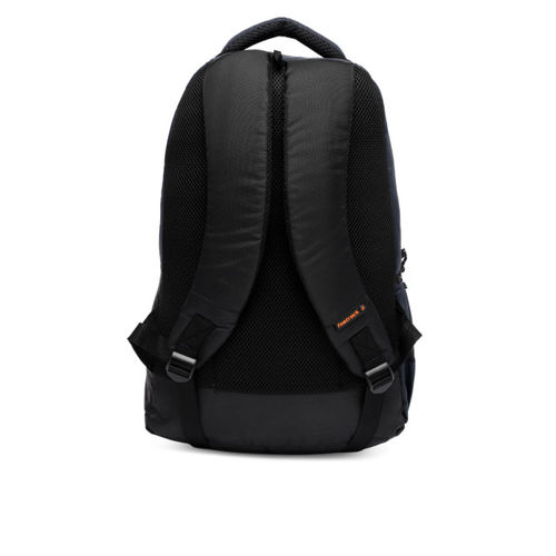Fastrack Men Navy Blue Solid Backpack