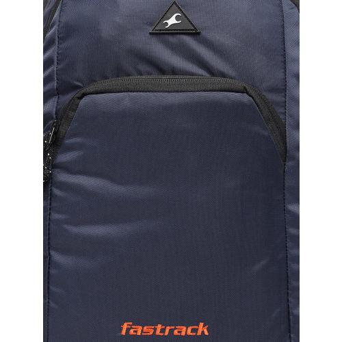 Fastrack Men Navy Blue Solid Backpack