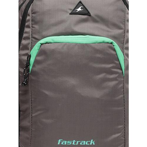 Fastrack Men Grey Solid Backpack