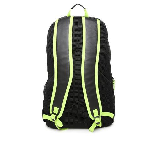 Fastrack Men Black Solid Laptop Backpack