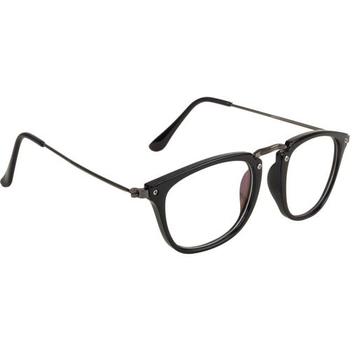 NuVew Rectangular Sunglasses(Clear)