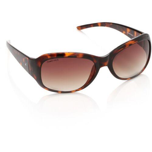 Fastrack Rectangular Sunglasses(Brown)