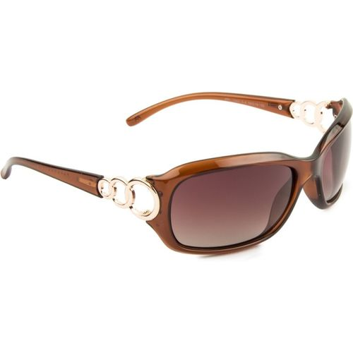 Farenheit Rectangular Sunglasses(Brown)