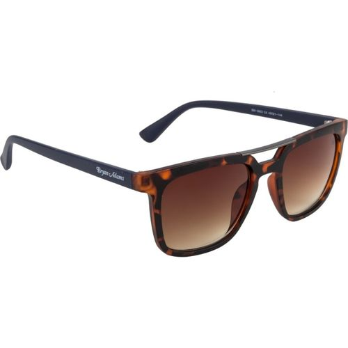 Bryan Adams Rectangular Sunglasses(Brown)