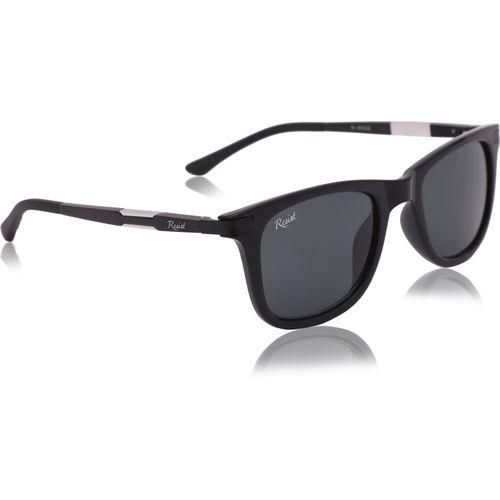 Resist Rectangular, Wayfarer, Sports Sunglasses(Black)