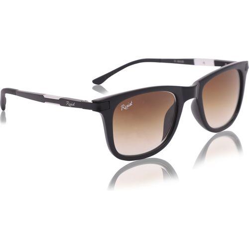Resist Rectangular, Wayfarer, Sports Sunglasses(Brown)