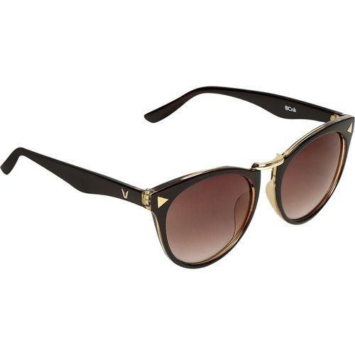 Ocnik Rectangular Sunglasses(Brown)