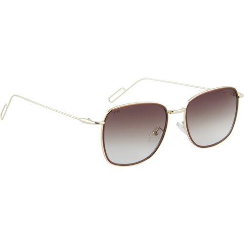 Panache Rectangular Sunglasses(Brown)