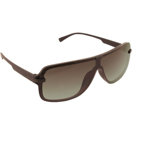 Gansta Rectangular Sunglasses(Green)